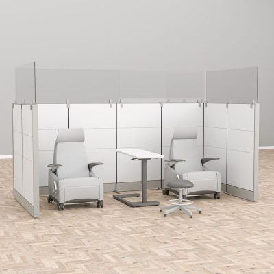Render of the Medical Facility Room Divider