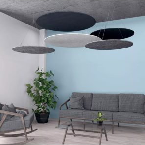 picture of eSCAPE Round Suspended Acoustic Ceiling Panels