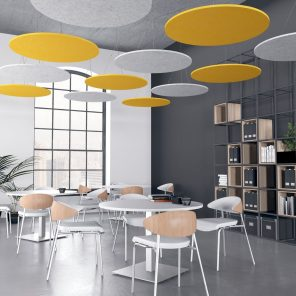 Picture of eSCAPE Circle Suspended Acoustic Ceiling Panels
