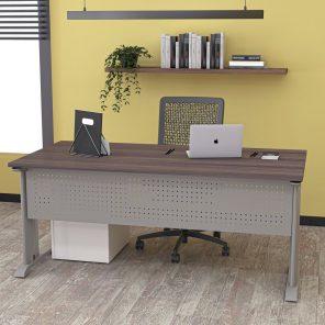 Digital Render of Office Desks for Sale with C-Legs