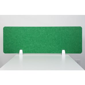 """Render of eSCAPE 12""""H Desk Top Mounted Acoustic Privacy Screen"""