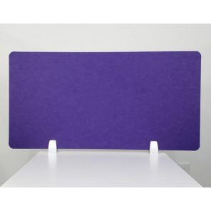 """Render of eSCAPE 24""""H Desk Top Mounted Acoustic Privacy Screen"""