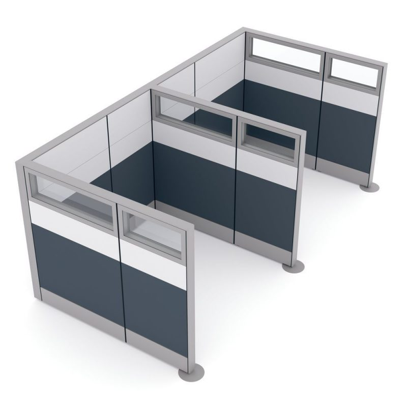 Render of Office Partition Dividers