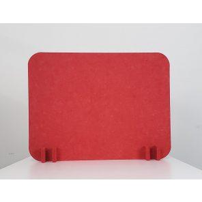 """Render of eSCAPE Freestanding Acoustic Desk Divider 12""""H"""