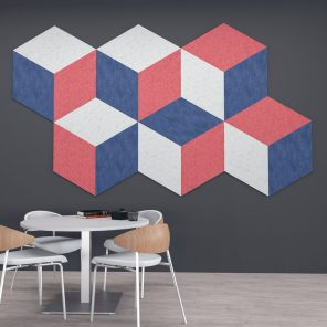 Picture of eSCAPE Cube Design Wall Mounted Acoustic Panels