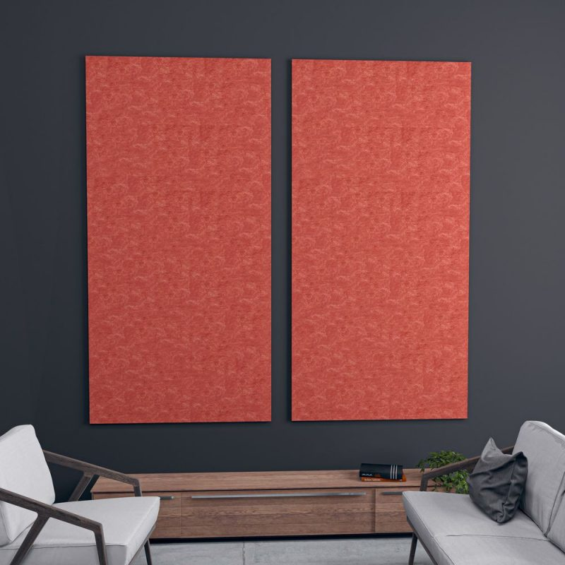 """picture of Set of 2 Acoustic Wall Panel 47""""W x 94""""H"""