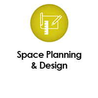 SKUTCHI Designs Inc. offers Space Planning and Design Services