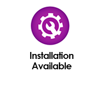 Installation services are available