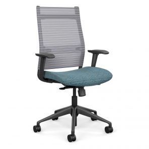 Wit Series Highback Chair with Mesh Back