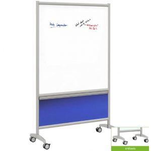 Render of Annex Mobile Magnetic Porcelain Whiteboard