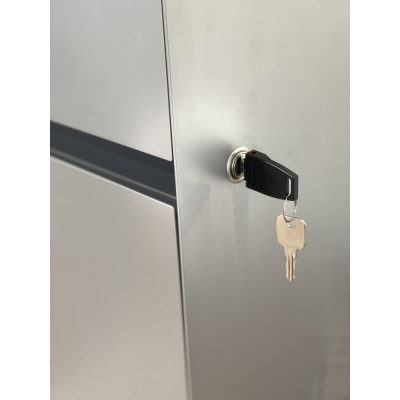 Lock and Key for the Render of Wally Mobile Storage Pedestal Cabinet