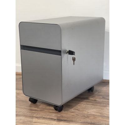 Alternate View of the Render of Wally Mobile Storage Pedestal Cabinet