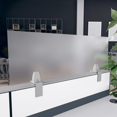 Render of Acrylic Cubicle Extender