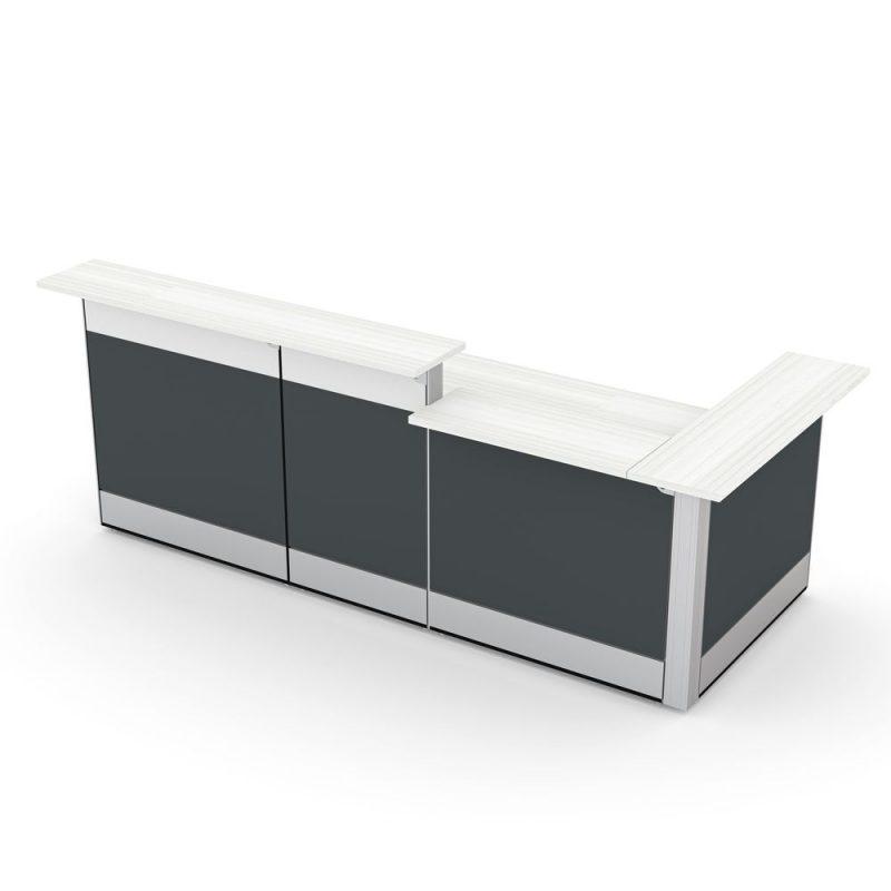 Render of Reception Cubicle Workstation