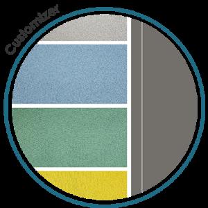 Sub icon circles HP-customizer